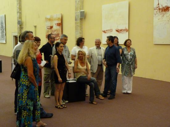Vernissage - Chapelle de l'Observance - Juillet 2011